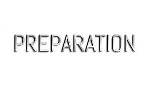 PREPARATION²